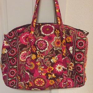 VERA BRADLEY Retired Large Travel Duffle Bag